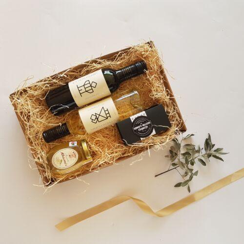 Arany és fekete 2.0 - bor, chutney, méz ajándékcsomag