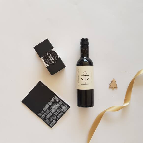 Arany és fekete 1.1 - bor, chutney, Budapest design-füzet